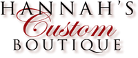 Logo for Hannah's Custom Boutique